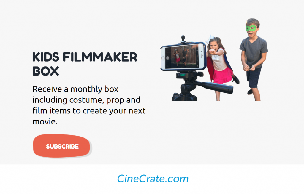 cinecrate subscription box service for kids
