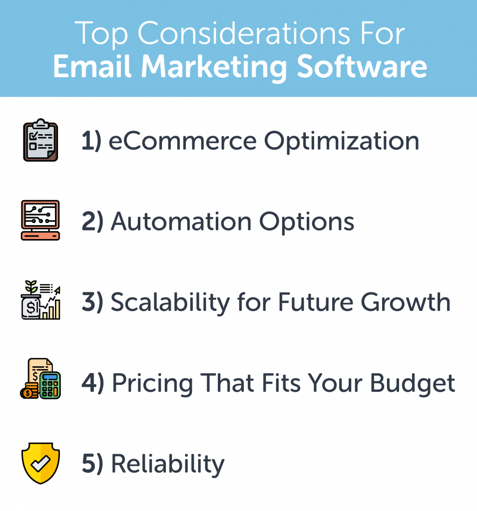 Top Considerations for Email Marketing Software