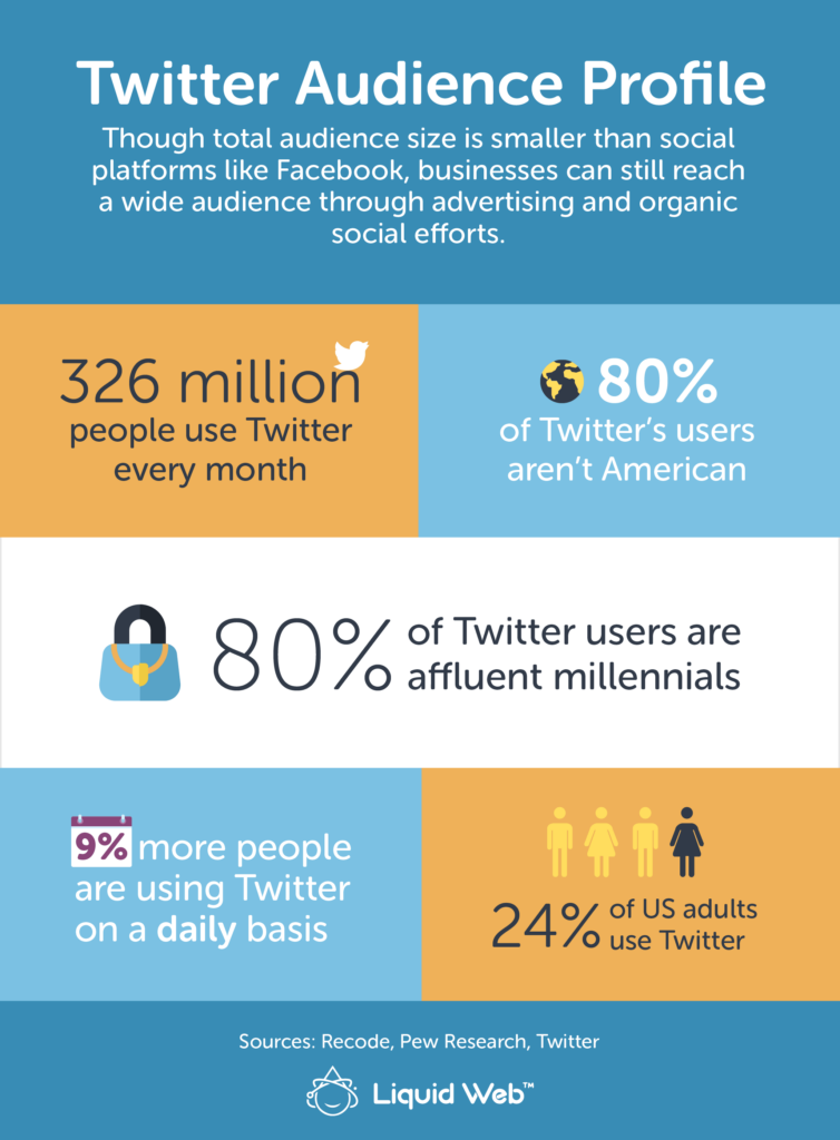 Twitter for business audience profile