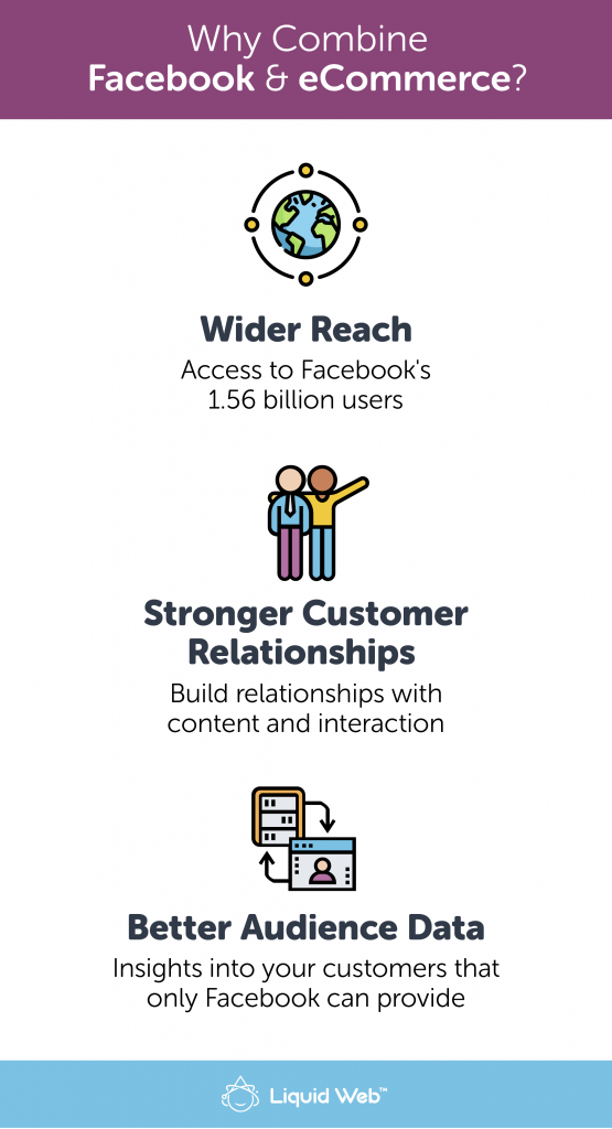 3 reasons to combine facebook and ecommerce