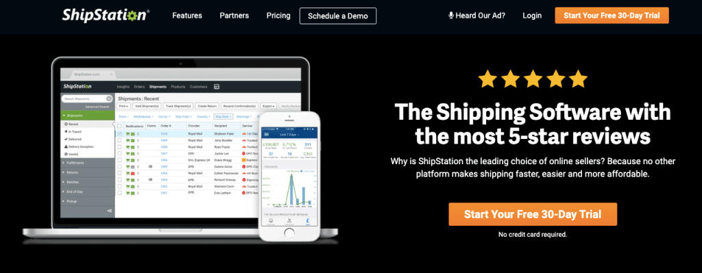 ShipStation brings together shipping and tracking management for retailers.